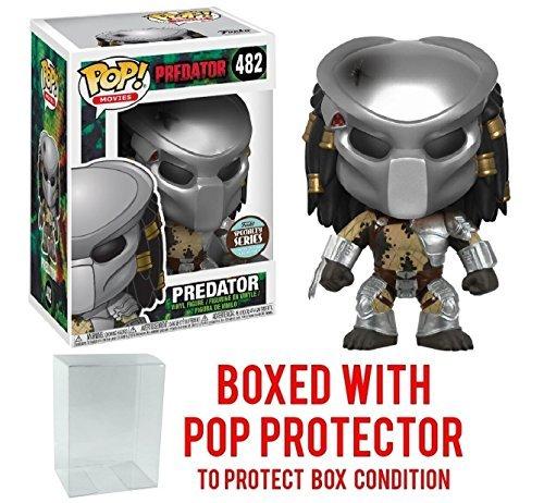 Predator - Masked Predator Specialty Series Pop! Vinyl Figure and (Bundled with Pop BOX PROTECTOR CASE)