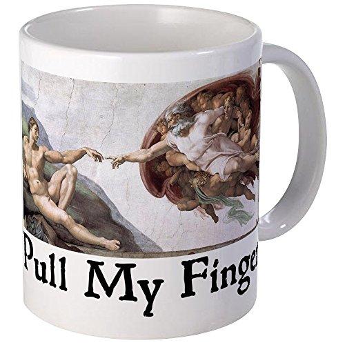 - CafePress Pull My Finger Mug Unique Coffee Mug, Coffee Cup