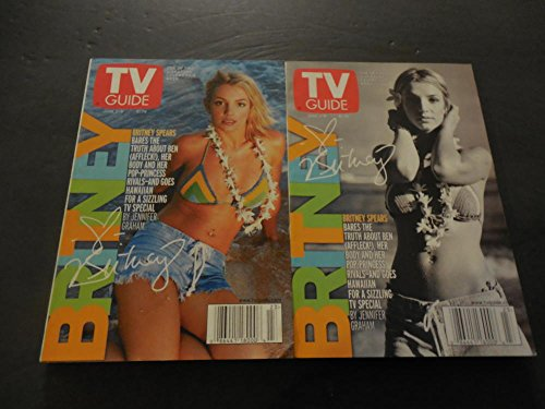 TV Guide 2 Issues June 3-9 2000, Britney Spears - Cover Spears Britney