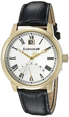 Thomas Earnshaw Men's ES-8033-03 Cornwall Analog Display Japanese Quartz Silver Watch