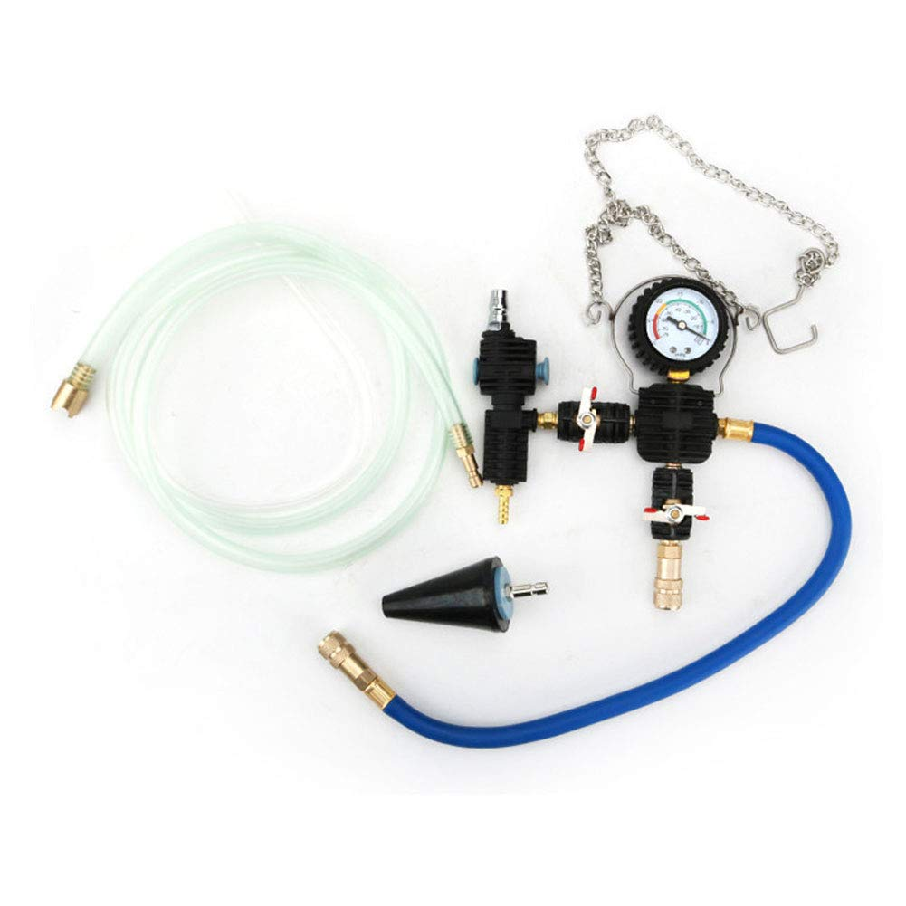 XuBa Purge + Refill Tool Kit Universal Radiator Vacuum Cooling Pump System No Bleeding by XuBa (Image #2)