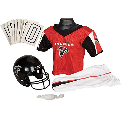 Franklin Sports NFL Atlanta Falcons Youth Licensed Deluxe Uniform Set, Large -  15702F01P1Z