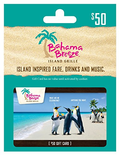 Bahama Breeze $50 Gift Card (Red Lobster Gift)