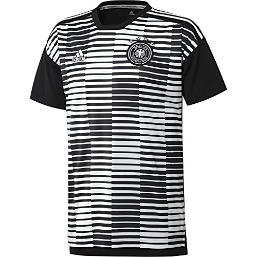 c0b902e251a adidas 2018-2019 Germany Pre-Match Football Soccer T-Shirt Jersey (White