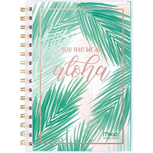 Mead 2019-2020 Academic Year Weekly & Monthly Planner, Small, 5-1/2