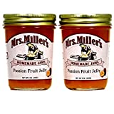 Mrs. Miller's Amish Made Passion Fruit Jelly ~ 2 / 9 Ounce Jars