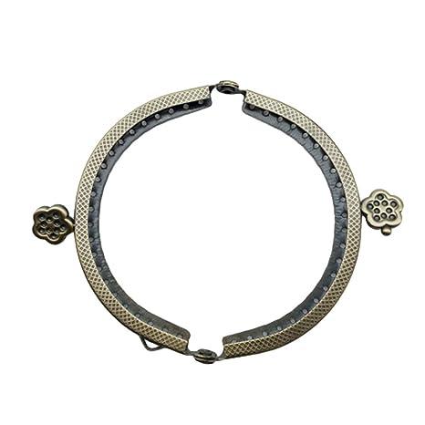 TENDYCOCO 8.5 cm Marco de Metal Monedero Bolsa de Moneda ...