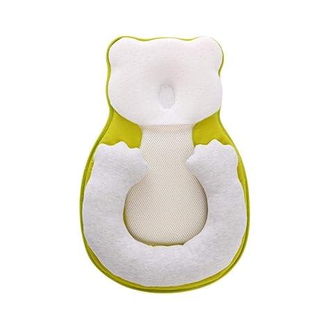 LYHONG Almohada portátil para bebé Cuna Cama para bebé ...