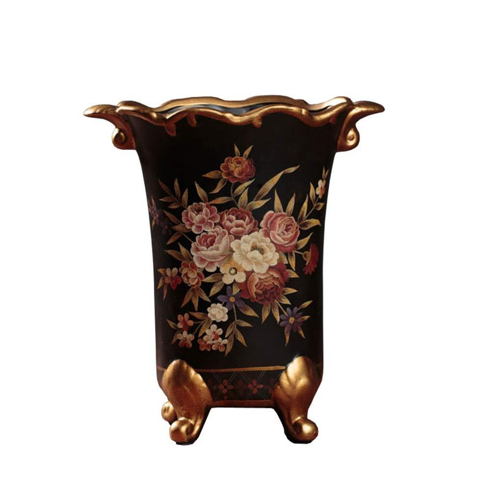 セラミック花瓶用花緑植物結婚式の植木鉢装飾ホームオフィスデスク花瓶花バスケットフロア花瓶 B07RGYMPKH