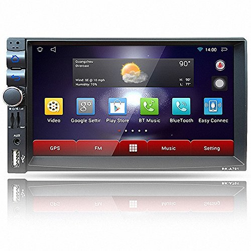 FiveFour 7.0-Inch In-Dash Double-Din Android 6.0 Stereo Rece