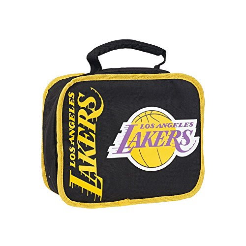 NBA Licensed Los Angeles Lakers Lunchbreak Lunch Box Insulated Cooler Bag by NBA