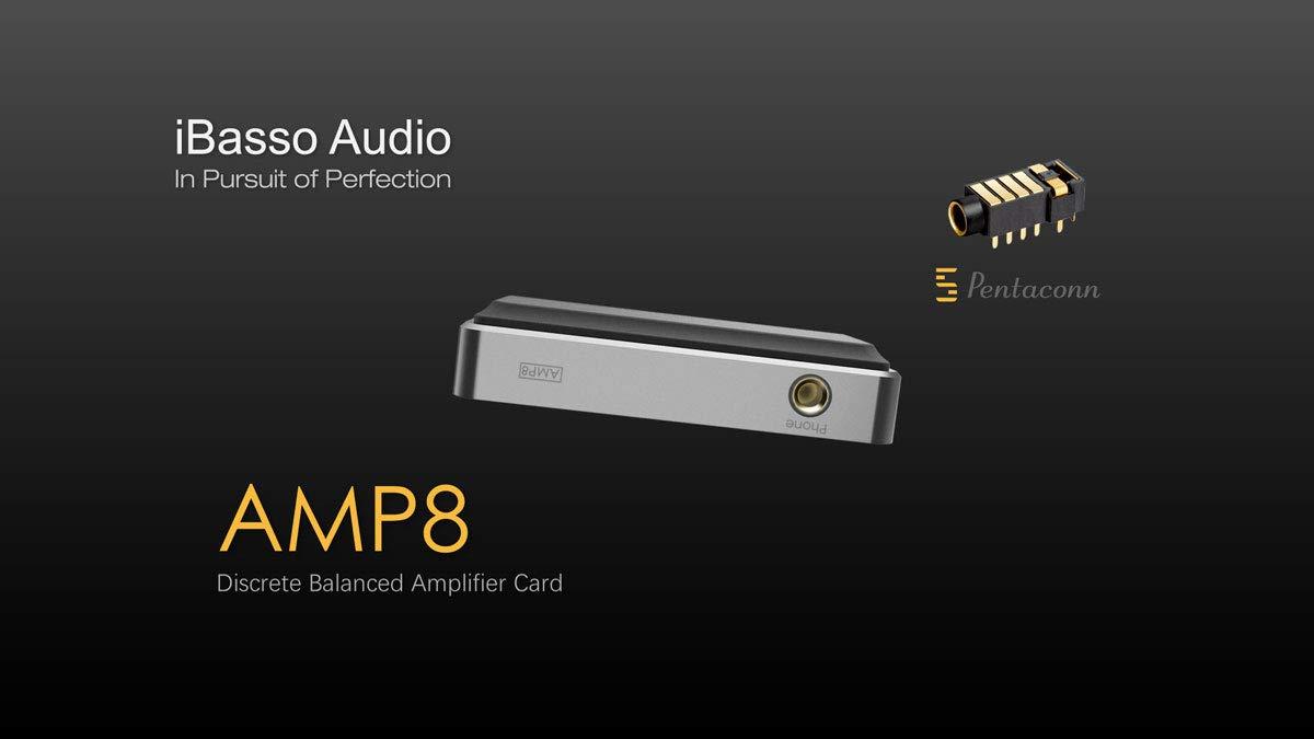 アイバッソオーディオ DX150/DX200用アンプモジュール《4.4mm 極バランス出力》 AMP8   B07FKVDVMQ