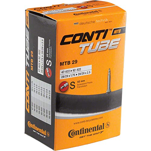 Continental 29' Bicycle Tube, 1.75'/2.5' 42mm Presta Valve