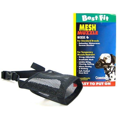 BestFit Mesh Muzzle 01300-BLK06
