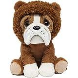 Pelúcia Bulldog Leãozinho, Buba Toys, Multicor, Médio