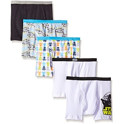 hot sell Star Wars Boys' Classic 5pk Boxer Briefs for cheap