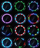 Xyemao 2 Pack LED Bike Spoke Lights