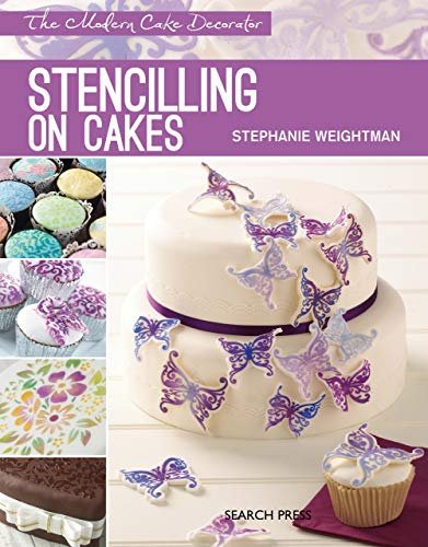 Modern Cake Decorator: Stencilling on - Cake Ganache Wedding