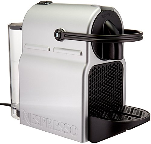 Nespresso Inissia Espresso Machine by De'Longhi, Silver (Certified Refurbished)
