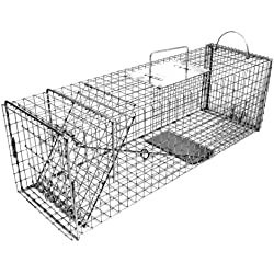 Tomahawk Original Series Rigid Trap with Easy Release Door for Cats and Rabbits