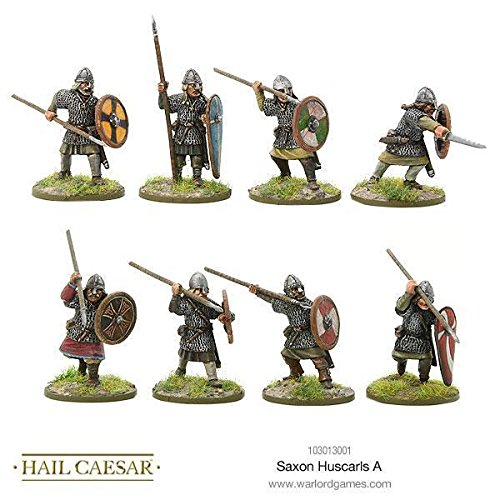 Warlord Games, Hail Caesar - Saxon Huscarls A - Wargaming miniatures