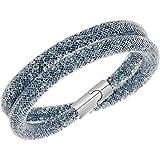 Swarovski Stardust Dark Gray Double Bracelet Size - M 5089847
