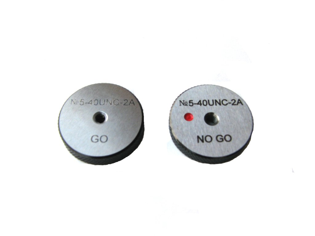 Ring Gage 2A 5//16-18 UNC ANSI Go//No Go