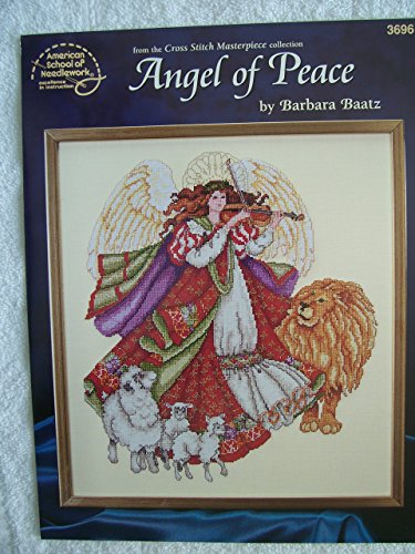 Angel of Peace Counted Cross Stitch Chart Angel Cross Stitch Chart