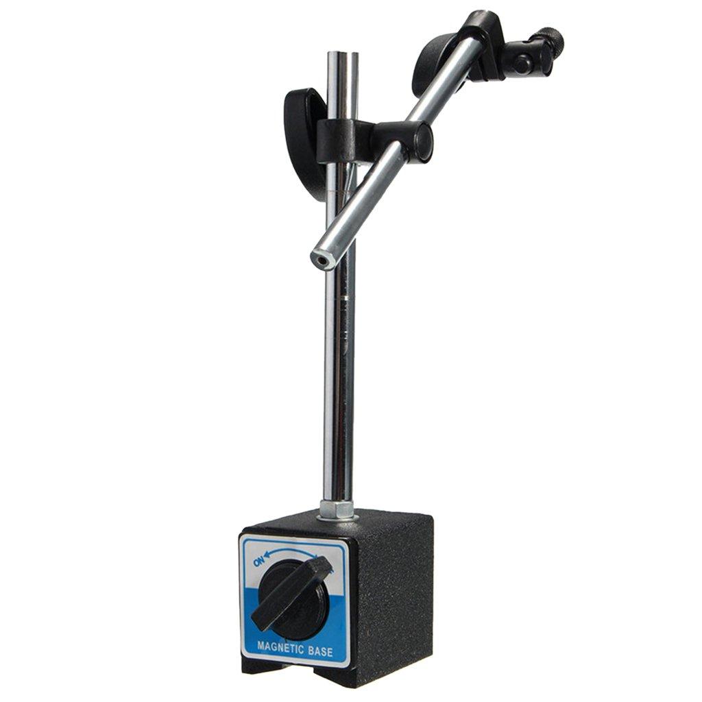 Jili Online Metal Magnetic Base Stand Holder for Dial Test Indicator DTI Clock Gauge TDC Home Inprovement