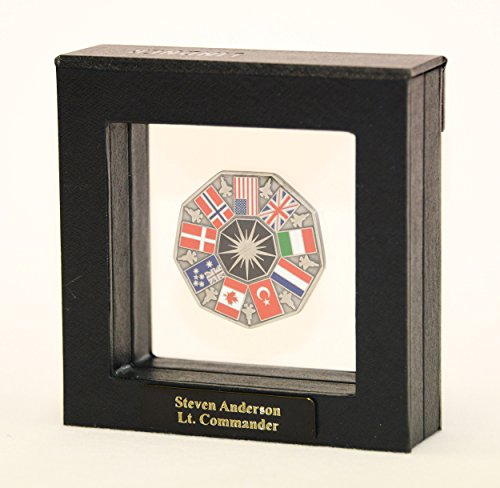 1 Single Challenge Coin Display Case Box Holder Shadowbox ()