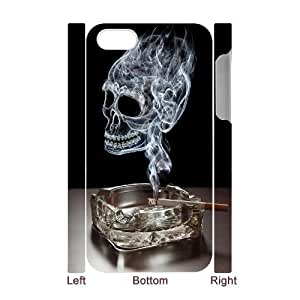 linfenglin Diy hard Case Skull customized 3D case For Iphone 4/4s