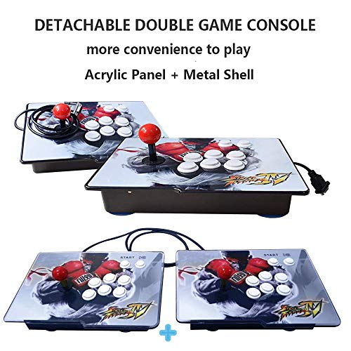 Retro Arcade Video Games Console - 2350 Games in Pandora Treasure 3D Box ,2 Players Joysticks Arcade Machine for Home, 1920x1080 HD Output(Double Console) by AOLODA (Image #2)