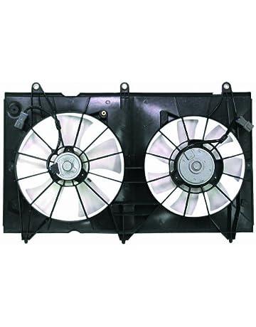 Depo 317-55018-000 Dual Fan Assembly