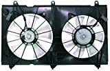 Depo 317-55018-000 Dual Fan Assembly