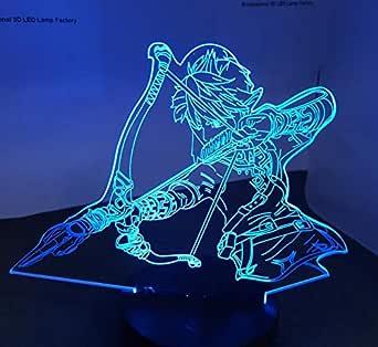 OMCR Illusion 16 Colores De Luz Nocturna Triángulo Zelda ...