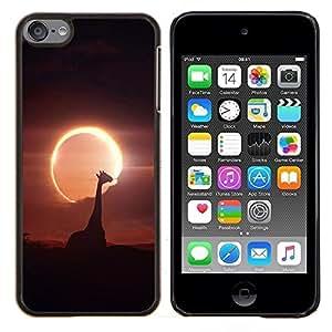 Be-Star Único Patrón Plástico Duro Fundas Cover Cubre Hard Case Cover Para iPod Touch 6 ( Galassia Stelle 52 )