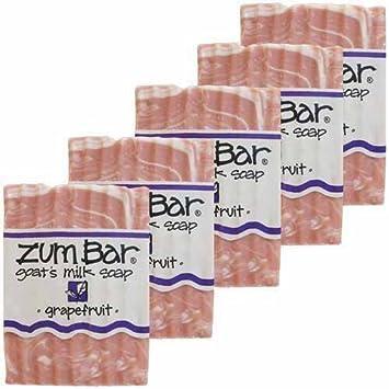 Grapefruit Zum Bars Multipack 5 Count by Indigo Wild
