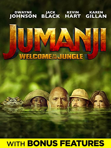 Jumanji: Welcome To The Jungle (Plus Bonus Content) by