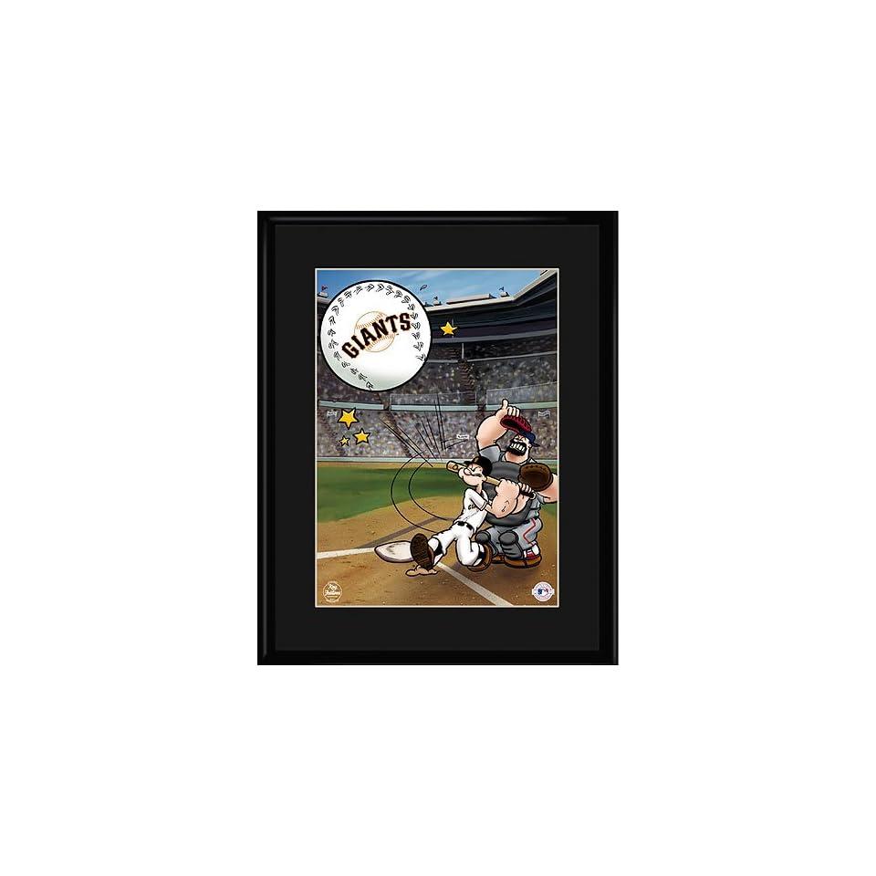 San Francisco Giants MLB Homerun Popeye Collectible
