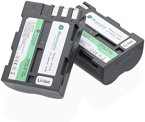 EN-EL3e Powerextra 2 unidades de repuesto Nikon EN-EL3e ...