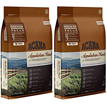 Image of ACANA 2 Pack of Appalachian Ranch Dry Dog Food, 13 Pounds Each, High Protein, Grain Free, Made in The USA