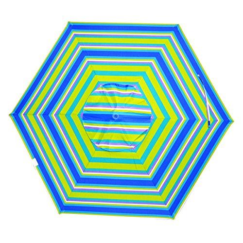 Shadezilla 7 ft Deluxe Market Style Beach/Patio Umbrella UPF