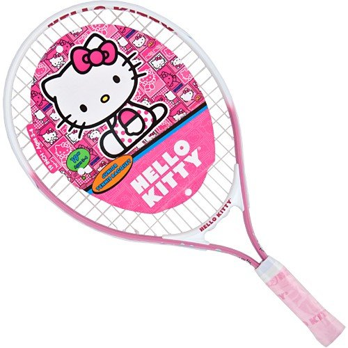 Hello Kitty Sports Junior Tennis Racquet, Pink, 19-Inch