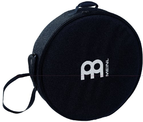 "Meinl Percussion 16"" Frame Drum Bag with Shoulder Strap-Heavy Duty Nylon, Double Slide Zipper and Carrying Grip (MFDB-16)"