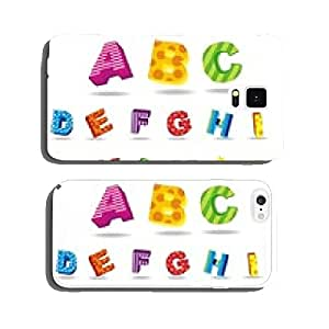 colorful alphabet cell phone cover case iPhone6 Plus