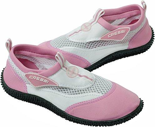 Pink Cressi Beach Premium Reef Shoes Aqua White OqOYPr