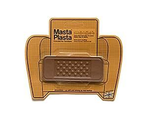 Tan MastaPlasta Self-Adhesive Leather Repair Patches. Choose size/design. First-aid for sofas, car seats, handbags, jackets etc (TAN BANDAGE 10cmx4cm)