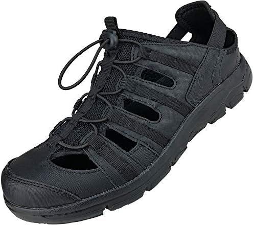 サンダル メンズ スポーツサンダル アウトドア サボサンダル メンズサンダル アクア クロッグ 軽量 通気性 ブラック