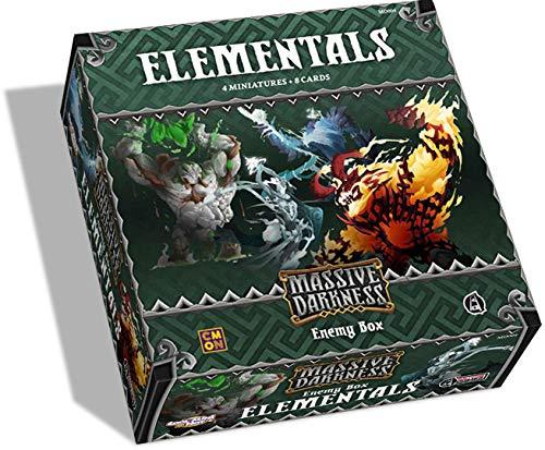 [해외]거 대 한 어둠: 적 상자: 정령 / Massive Darkness: Enemy Box: Elementals