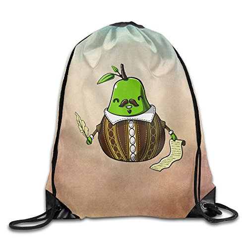 Costume Design For Shakespeare Plays (D2 Cool Shakespeare Like Pears Sackpack White Size)